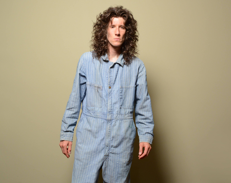 d314770f8415 Vintage 40s 50s Lee Union-Alls coverall HBT denim work suit