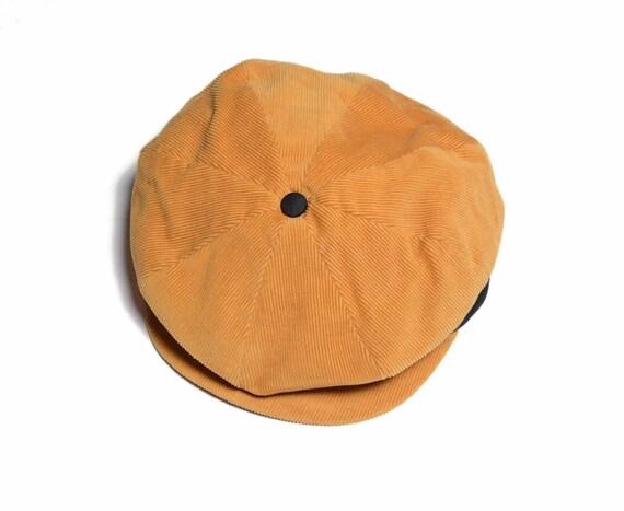 vintage 50s 60s newsboy cap Sears Pilgrim sport cap flat cap  a39bc9fc3ce