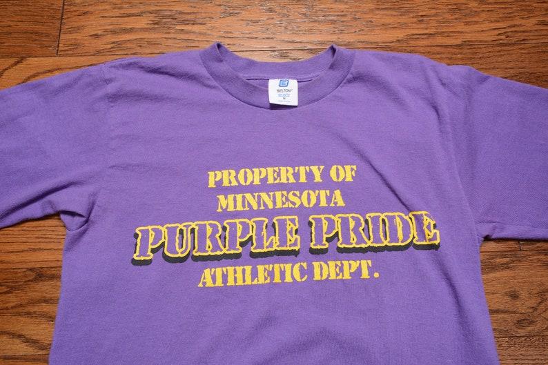 Vintage 80s 90s Minnesota Vikings t-shirt long sleeve tee  099e262c3