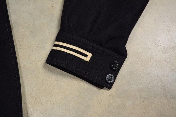 vintage 40s 50s US Navy sailor uniform shirt 1940… - image 4