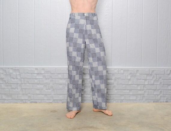 vintage 80s 90s Orvis seersucker patchwork pants p