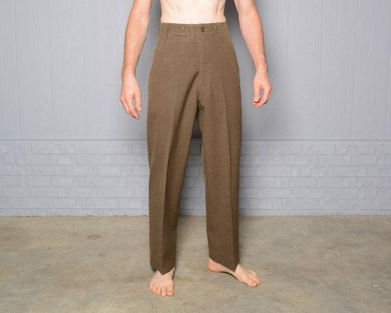 vintage 40s army pants US military 1940 WW2 WWII o