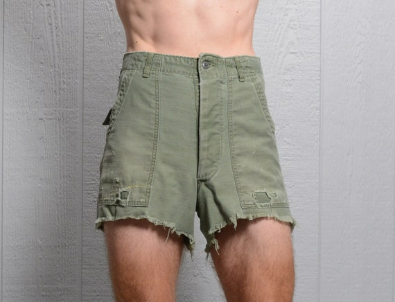 vintage 60s OG shorts cutoff army military pants 1