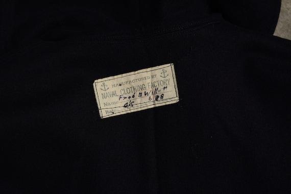 vintage 40s 50s US Navy sailor uniform shirt 1940… - image 5