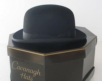 efb800e70b8 Vintage Mens Derby Hat 1950s