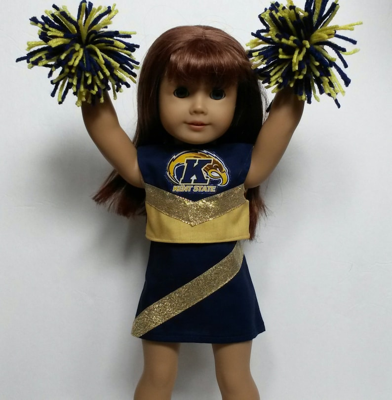 "Doll Clothes fits American Girl Doll 18/"" Dolls Philadelphia Eagles Cheerleader"