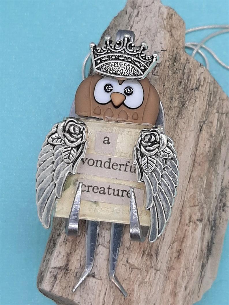 owl pendant jewelry