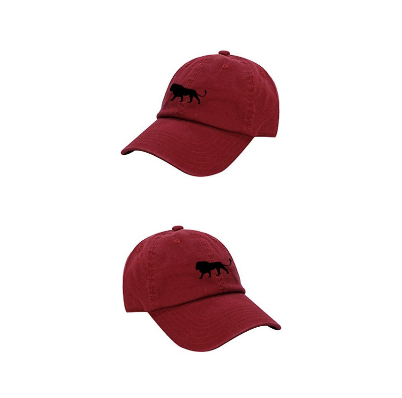 94bf10f54cfd3 Lion Dad Hat   Baseball Hat with a Lion   Lion Baseball Hat