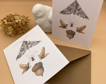 Tiny Pieces of Nature Blank Greeting Cards Set