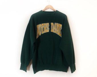 Notre Dame Sweatshirt Etsy