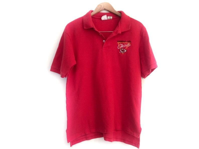 Vintage Kansas City Chiefs Polo Shirt    Retro KC Chiefs  169e9e9f0