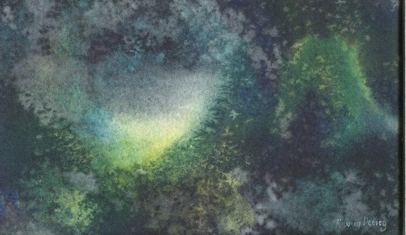 Original Watercolor Painting My Space No /_