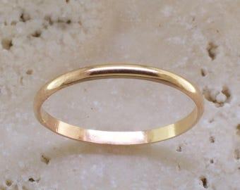 2241dc5f14dcd Simple ring | Etsy