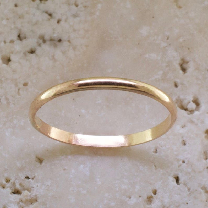 dbe2ff5939463 Classic Band - Thumb Ring - Dainty Ring - Gold Thumb Ring - Minimalist Ring  - Stackable Ring - Simple Ring - Womans thumb ring -Skinny ring