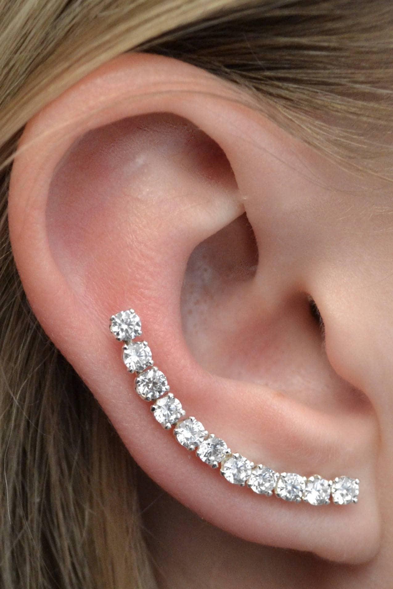 The Cleopatra Ear Climber Ear Pin Ear Climbers Ear Pins