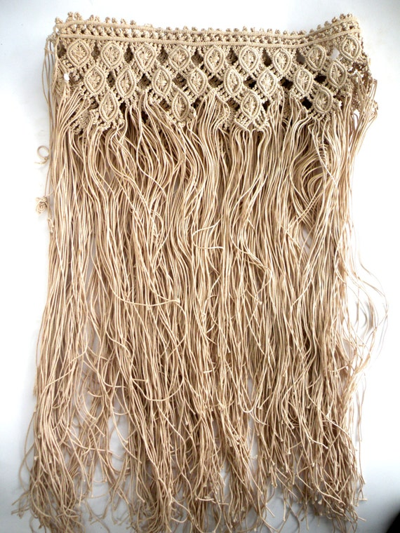 CasualHomeStyle- Macrame Skirt - Chic FESTIVAL Wea