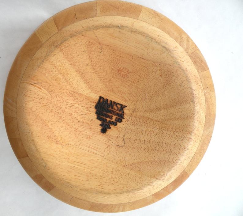 Dansk Danish Modern Wood Salad Bowl