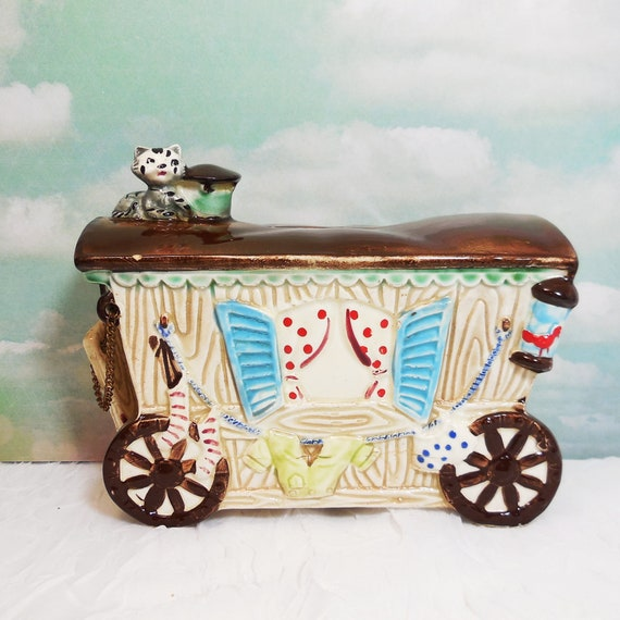 Gypsy Peddler Fortune Teller Wagon