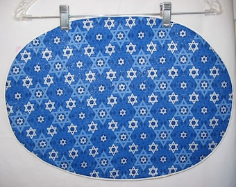 Centerpiece Mat with Stars of David All Over   #196