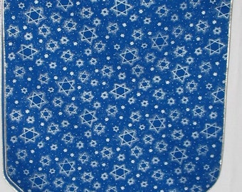 Table Runner with Silver Stars  #235