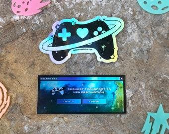 Escape.exe Sticker Set