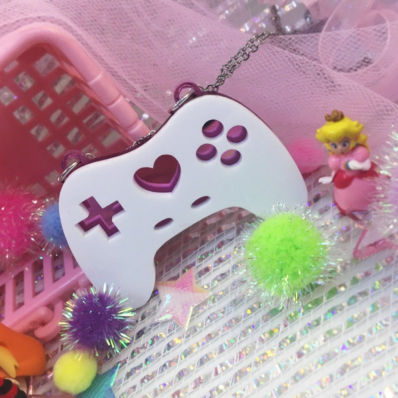 Geeky Glamorous Controller Necklace  Sweet image 0