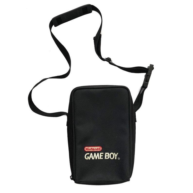 Vintage Game Boy Carrying Case Shoulder Bag image 0