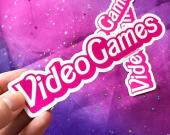Video Games Sticker