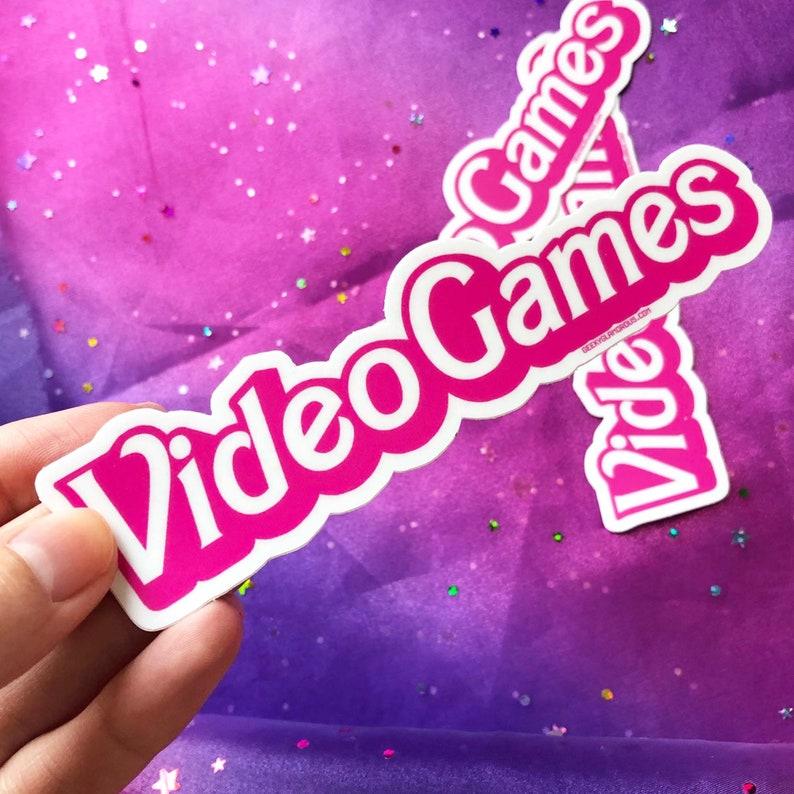 Video Games Sticker image 0