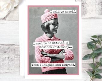 Knitting Because Etsy