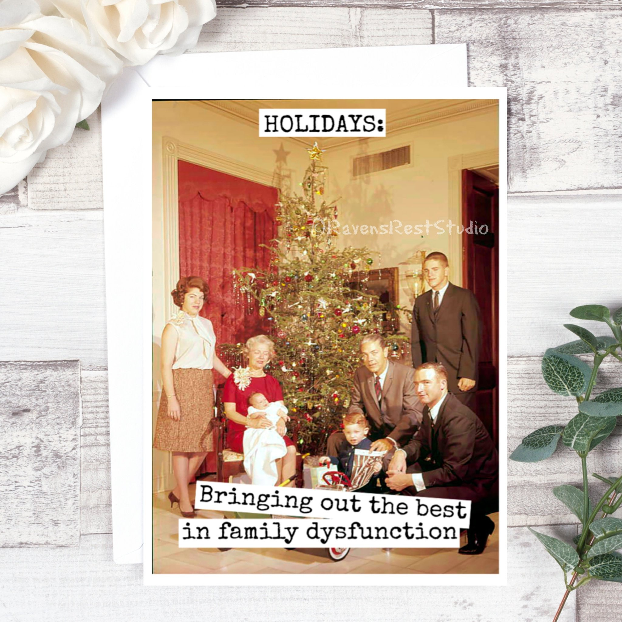 Funny Christmas Card - #C17 - HOLIDAYS: Bringing Out The Best In ...