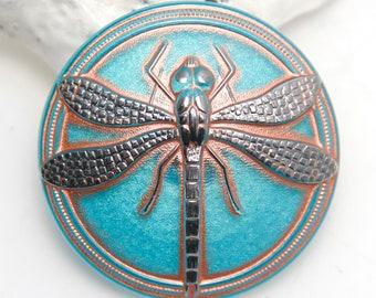 Transparent Deep Purple Faceted and Inscribed Art Deco Czech Glass Buttons