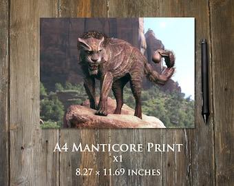 Manticore A4 print
