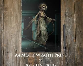 Moth Wraith A4 print