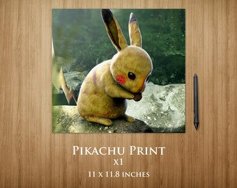 Pikachu Square Poster (special edition)