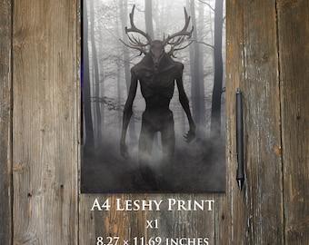 Leshy A4 print