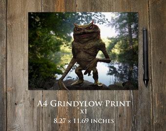 Grindylow A4 print