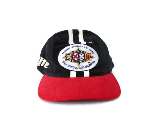 46bcc974747 Super Bowl XXXII Baseball Cap   Hat Miller Lite 1998 Packers
