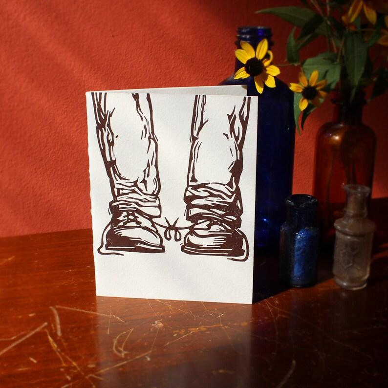 Funny Letterpress Gay Wedding Congratulations Card: image 0