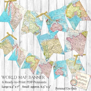 tent  labels birthday World Map tags places you go Map  Place Cards baby shower wedding Digital Buffet Cards travel theme graduation