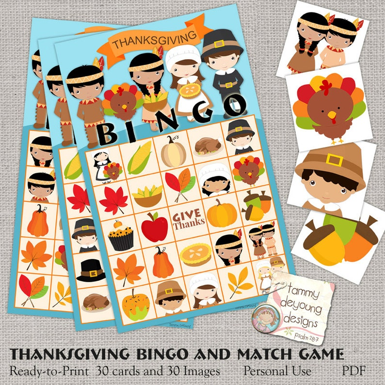 picture about Thanksgiving Bingo Printable identify Thanksgiving Bingo Video game, Printable Bingo Playing cards, Present Owing Youngsters Activity Bash prefer, Pilgrims, Indians, turkey preschool clroom sport
