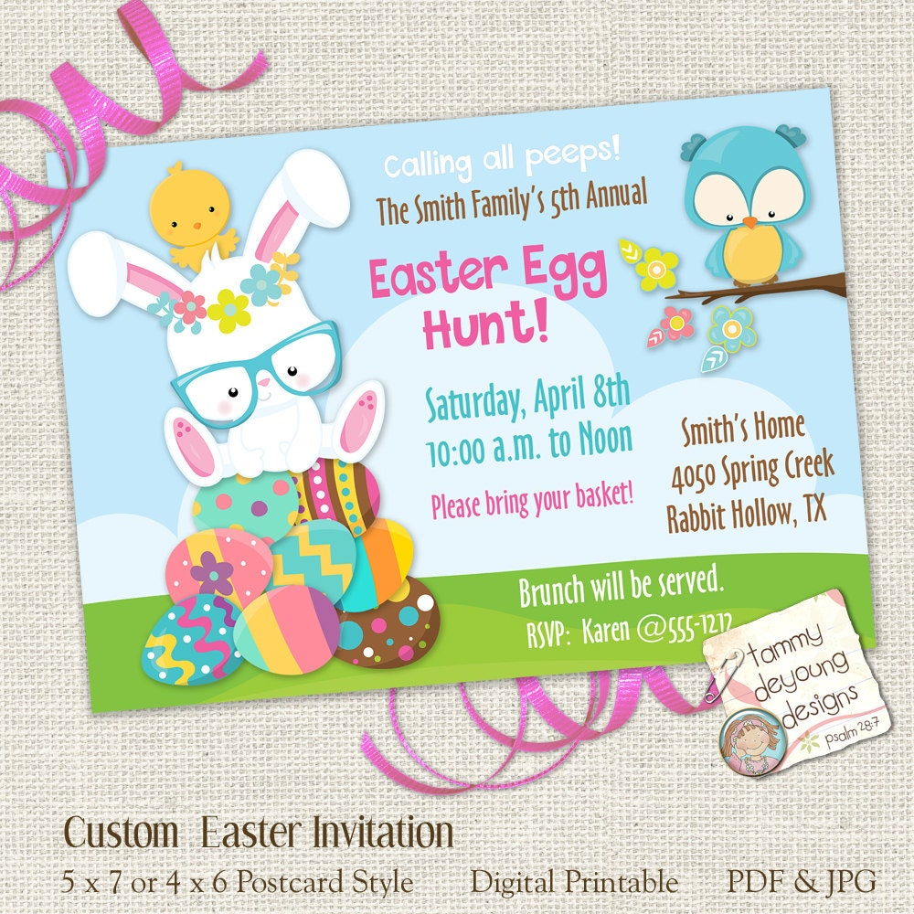 Transformative image intended for easter egg hunt invitations free printable