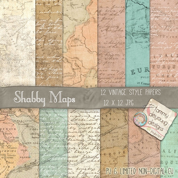 Map digital paper old world map paper printable maps shabby chic map digital paper old world map paper printable maps shabby chic invites cards announcements travel journal travel decor weddings from songinmyheart gumiabroncs Choice Image