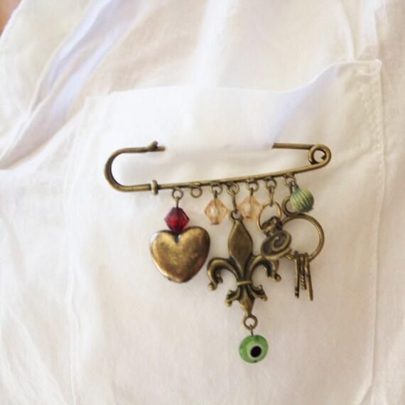 38mm Hannibal Lecter kilt pin brooch