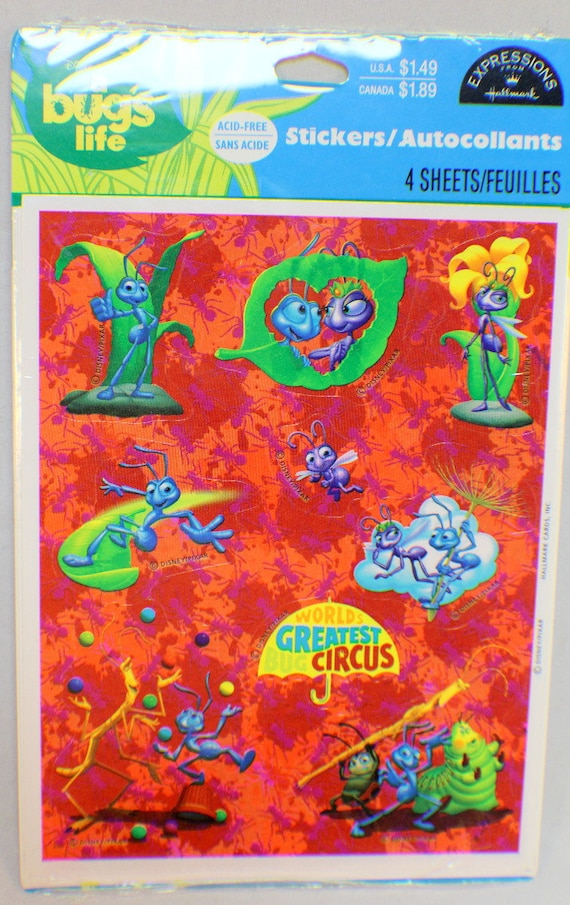 Excellent!! Vintage Stickers Ocean Life Hallmark