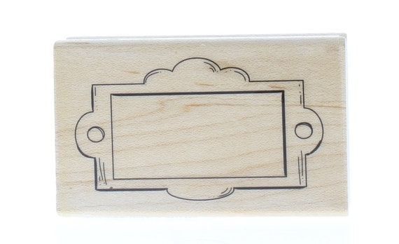 Inkadinkado Hearts Wood Stamp For Cards or Scrapbooking 2 W x 2 L