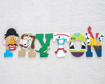 Toy Story Custom Wood Letters