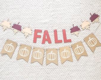 Fall Banner Home Decor