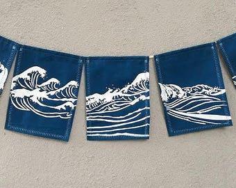 Ocean Prayer Flags. Go with the Flow.