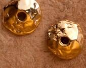 Gold Vermeil Finding Bead...